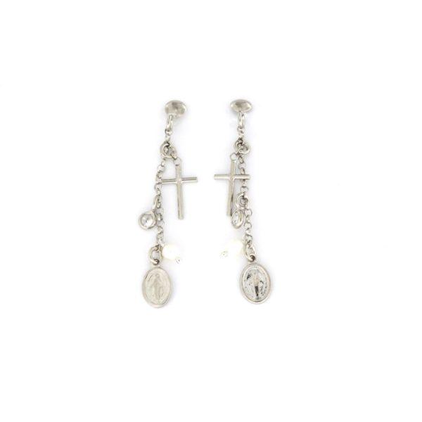 Orecchini pendenti in argento 925% -0