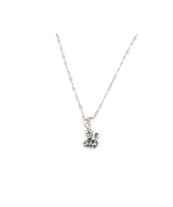 Collana in argento 925 con pendente volto di san gennaro -0