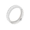 Anello in argento 925 fedina bianca-0