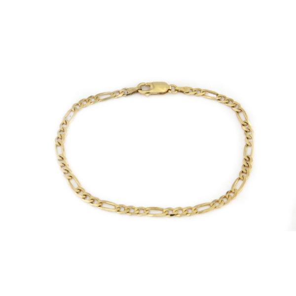Bracciale in argento 925 dorato -0